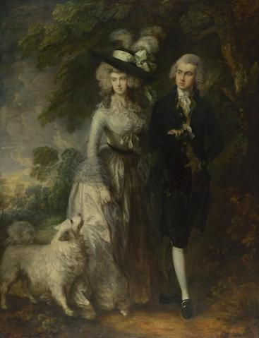 Thomas Gainsborough The Morning Walk