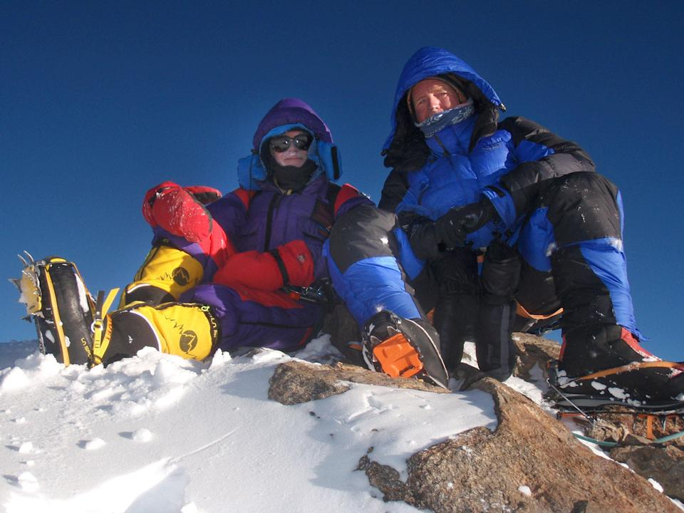 Scottish climber Rick Allen has reportedly died while attempting to find a new route up K2 (Sandy Allan/PA) (PA Media)