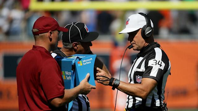 Referee Clete Blakeman explained the illegal bat call he made on arguably the wildest play of Week 3 in the NFL.