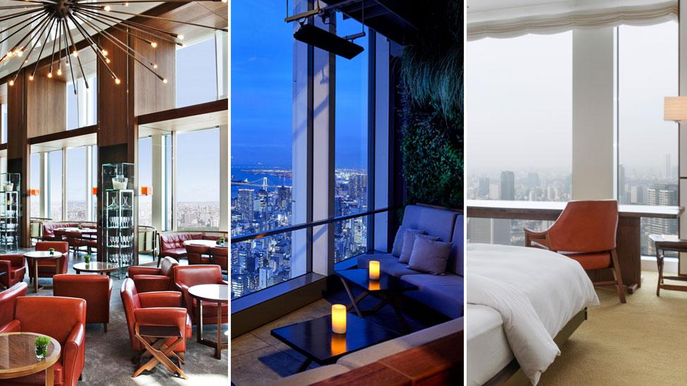Inside the luxe hotel with the most enviable views of Tokyo