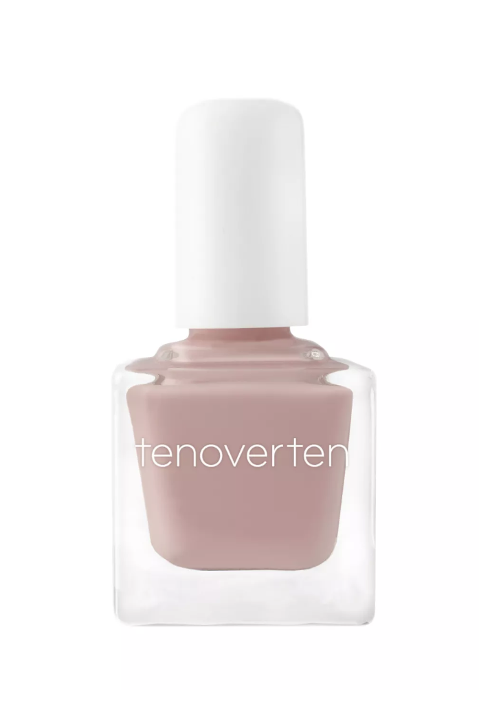 """<p><strong>tenoverten</strong></p><p>target.com</p><p><strong>$11.99</strong></p><p><a href=""""https://www.target.com/p/tenoverten-nail-polish-0-45-fl-oz/-/A-53975479"""" rel=""""nofollow noopener"""" target=""""_blank"""" data-ylk=""""slk:SHOP IT"""" class=""""link rapid-noclick-resp"""">SHOP IT</a></p><p>If you've had enough of winter's gloomy shades, look ahead to spring with this pale pink. It's a refreshingly sheer pink perfect for outdoor wedding season. </p>"""
