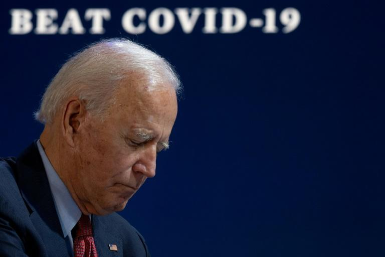Democratic presidential candidate Joe Biden is the bookmakers favourite