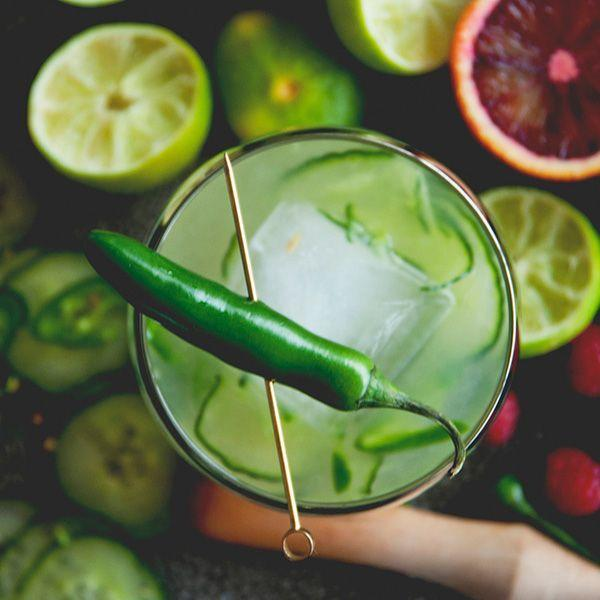 """<p>3 oz Tequila</p><p>3 tbsp Lime juice</p><p>1 tbsp Agave nectar</p><p>1 tbsp Triple sec</p><p>1 Handful ice</p><p>Combine all of the ingredients in a blender, and puree until smooth.<br></p><p><em>Via <a href=""""http://www.thekitchykitchen.com/?recipes=/margarita-night/"""" rel=""""nofollow noopener"""" target=""""_blank"""" data-ylk=""""slk:The Kitchy Kitchen"""" class=""""link rapid-noclick-resp"""">The Kitchy Kitchen</a></em><br></p>"""