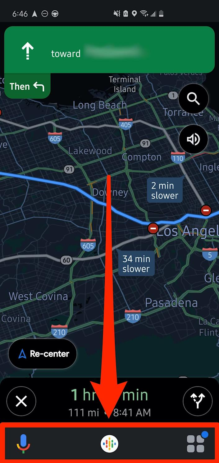 How to use Assistant driving mode in Google Maps 3