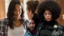 <p><em>Spider-Man: Homecoming</em> star Laura Harrier had a radical makeover to play Patrice Dumas in Spike Lee's brilliant <em>BlacKkKlansman</em>. </p>