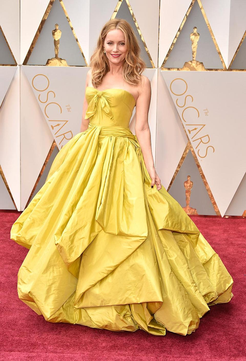 <p>Leslie Mann attends the 89th Annual Academy Awards at Hollywood & Highland Center on February 26, 2017 in Hollywood, California. (Photo by Kevin Mazur/Getty Images) </p>