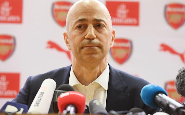 """It was an extraordinary press conference; an unprecedented press conference. A football club chief executive spoke about the departure of a manager and listed encouraging George Weah to become not only the best footballer in the world but a politician and the president of his country, Liberia, among his greatest achievements. That statement summed up Arsene Wenger, a football coach who became a manager of statesmen, with all-encompassing quality but whose greatest achievements took place some time ago. After all, he worked with Weah at Monaco and although Wenger is leaving Arsenal, there is no indication he is retiring from football. He wants another job. When asked to name his most memorable moments working with Wenger, it felt telling that Ivan Gazidis mentioned the FA Cup triumphs – three of them, in 2014, 2015, and 2017 – and hesitated before adding a Champions League victory over Barcelona. That, though, ended in defeat with Arsenal's 2-1 advantage in 2011 being overturned in the second leg to provoke another last-16 exit. Gazidis quickly moved on to the private conversations he had had with Wenger – """"speaking to him in private moments"""" – and addressed the human qualities of the now outgoing Arsenal manager. It was an awkward blurring of the lines between public and private given that he then said he did not want to speak about the latter. The problem for Gazidis, who arrived at Arsenal in 2008, is that Wenger's greatest on-field achievements occurred before his appointment. That is not to blame Gazidis, but it meant that while he spoke of Wenger having """"reinvented the game"""" and having """"transformed the beautiful game"""" that referred to the first half of his remarkable career at Arsenal. Wenger's departure was always going to be a tricky path to negotiate and as Gazidis walked into the press-conference theatre, open-shirted and clutching a piece of paper from which he then read a tribute before taking questions, he appeared understandably nervous and evidently wa"""