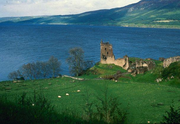 PHOTO: Scotland's 23-mile long Loch Ness, where some believe the elusive monster 'Nessie' lives. Urquhart Castle looks out over the water. (AP, FILE)