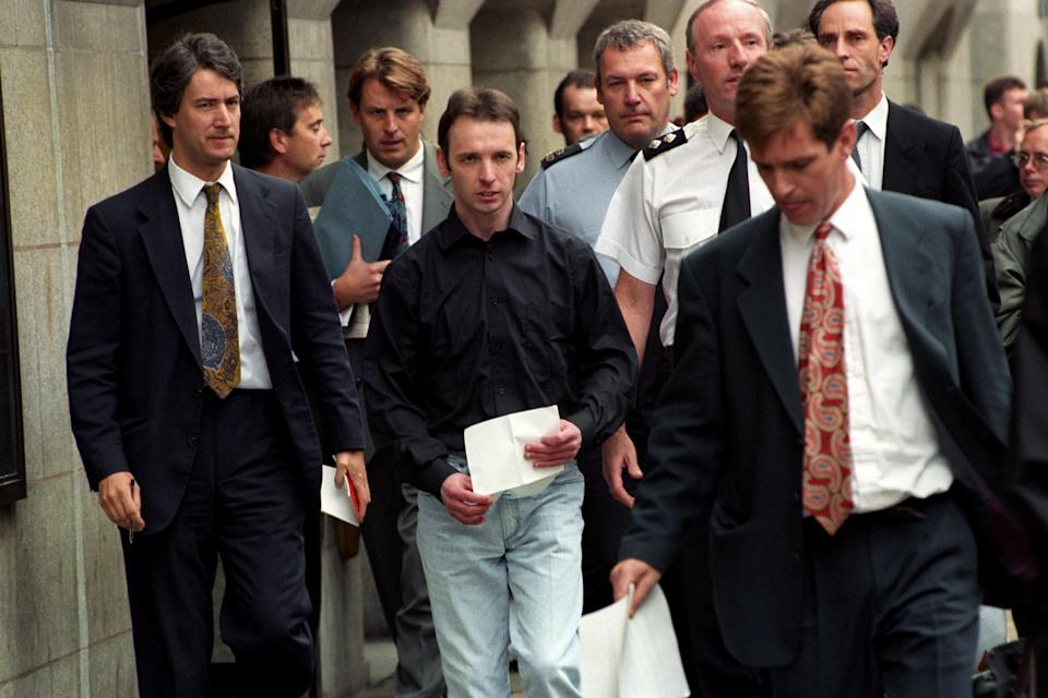 COLIN STAGG [C] LEAVES THE OLD BAILEY AFTER BEING CLEARED OF THE MURDER OF RACHEL NICKELL ON WIMBLEDON COMMON.   (Photo by Stefan Rousseau - PA Images/PA Images via Getty Images)