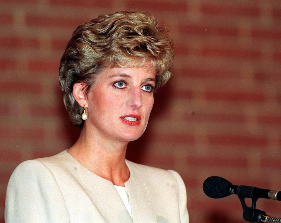 The Princess Of Wales during her speech to the Eating Disorders 93 Conference in Kensington, West London.   (Photo by Martin Keene - PA Images/PA Images via Getty Images)