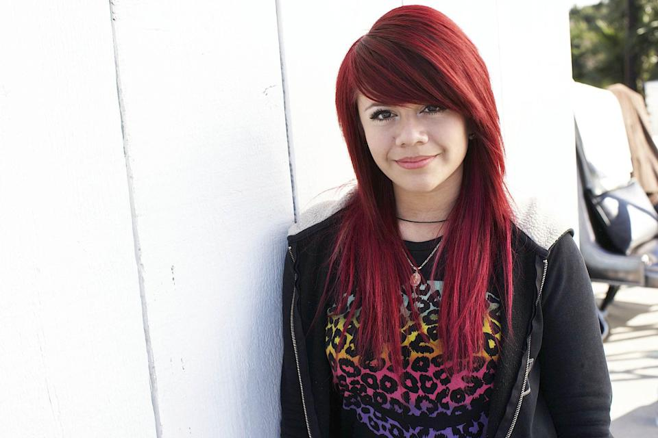 Allison Iraheta in 2009. (Photo: C Cuffaro/American Idol 2009/Getty Images for Fox)