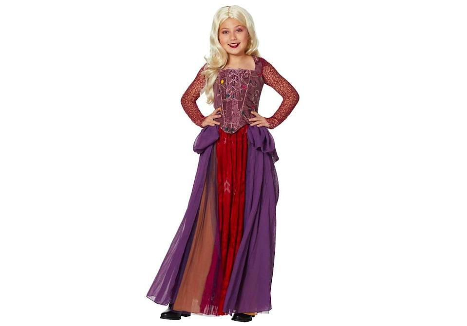 <p>If you want to dress exactly like Sarah in the movie, this <span>Signature Collection Tween Sarah Sanderson Costume</span> ($100) is the way to go. The long skirt and detailed sleeves will have anyone who wears this feeling just like the youngest Sanderson Sister.</p>
