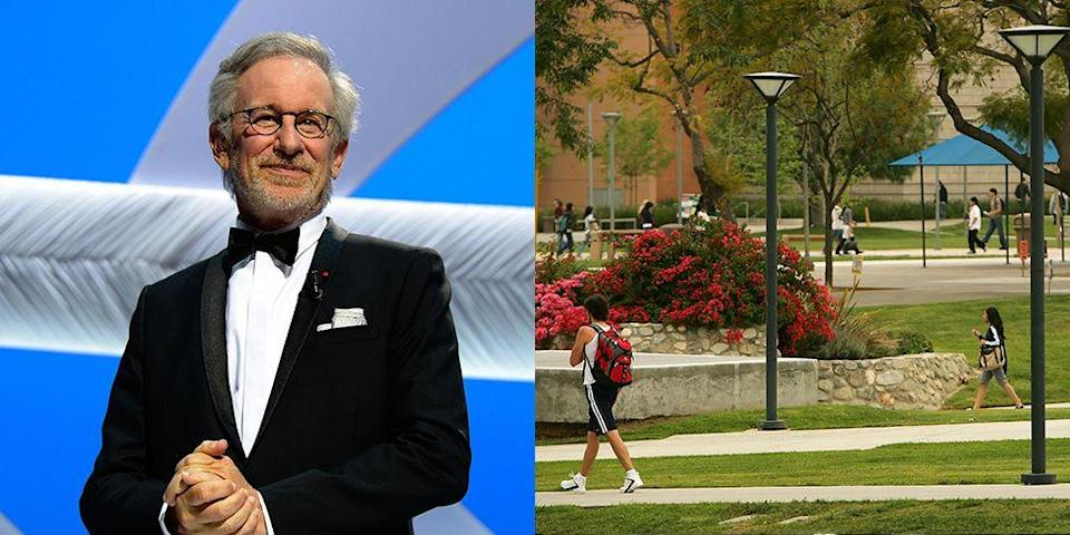 <p><strong>California State University</strong></p><p>Despite dropping out of college in 1968, director Steven Spielberg ended up finishing his education at California State University 34 years later. </p>