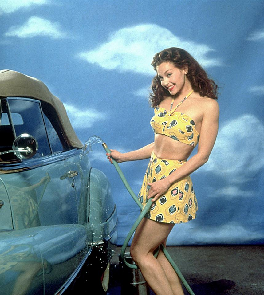 """Ashley Judd played the younger incarnation of Marilyn Monroe aka Norma Jean in """"<a href=""""http://tv.yahoo.com/norma-jean-marilyn/show/18485"""">Norma Jean & Marilyn</a>."""""""