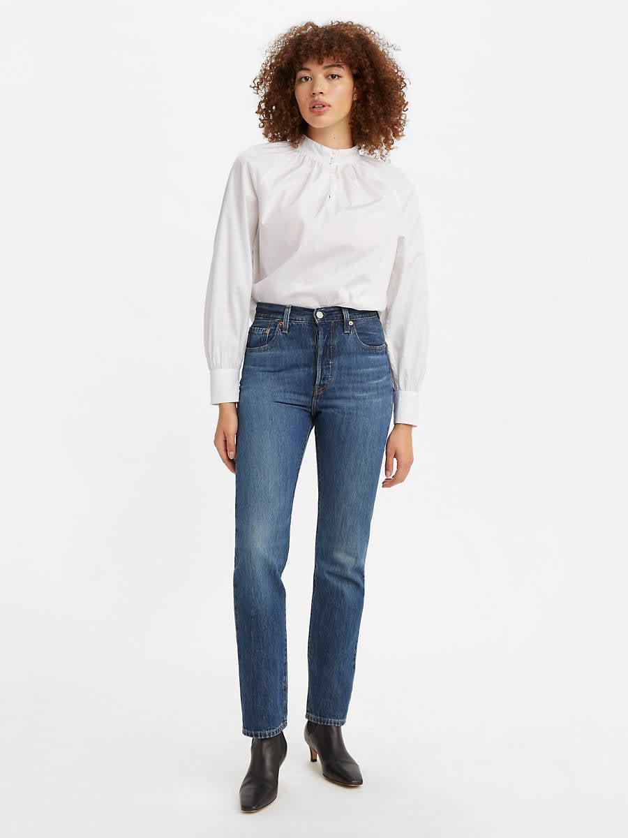 <p>When you think of Levi's, you think of the <span>Levi's 501 Jeans</span> ($98). It is rigid denim, high waisted, perfection of a jean.</p>