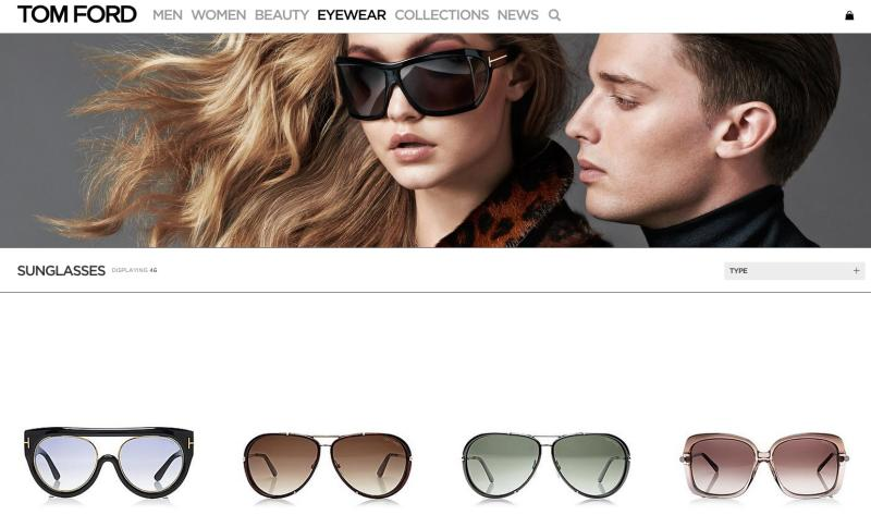 04ef09fc82a Gigi Hadid and Patrick Schwarzenegger for Tom Ford Eyewear AW14