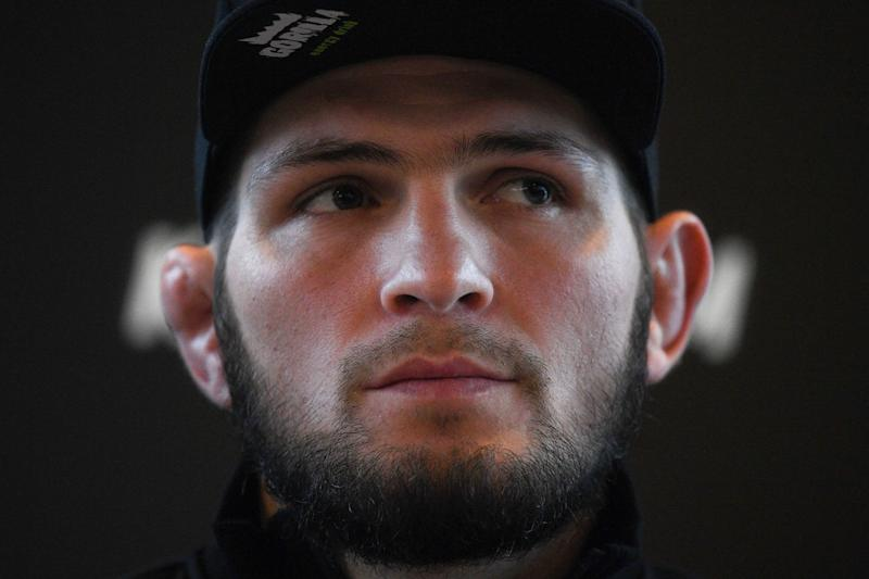 UFC 242: Khabib Nurmagomedov agitated by order to meet with media ahead of bout vs. Dustin Poirier