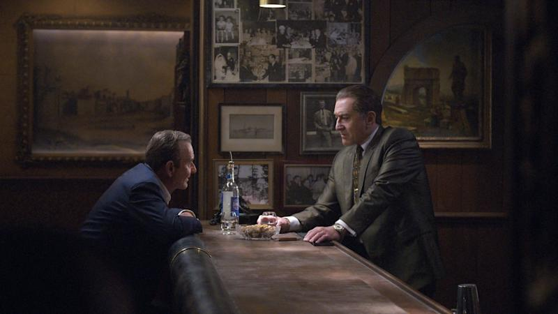 Joe Pesci and Robert De Niro in The Irishman (Credit: Netflix)