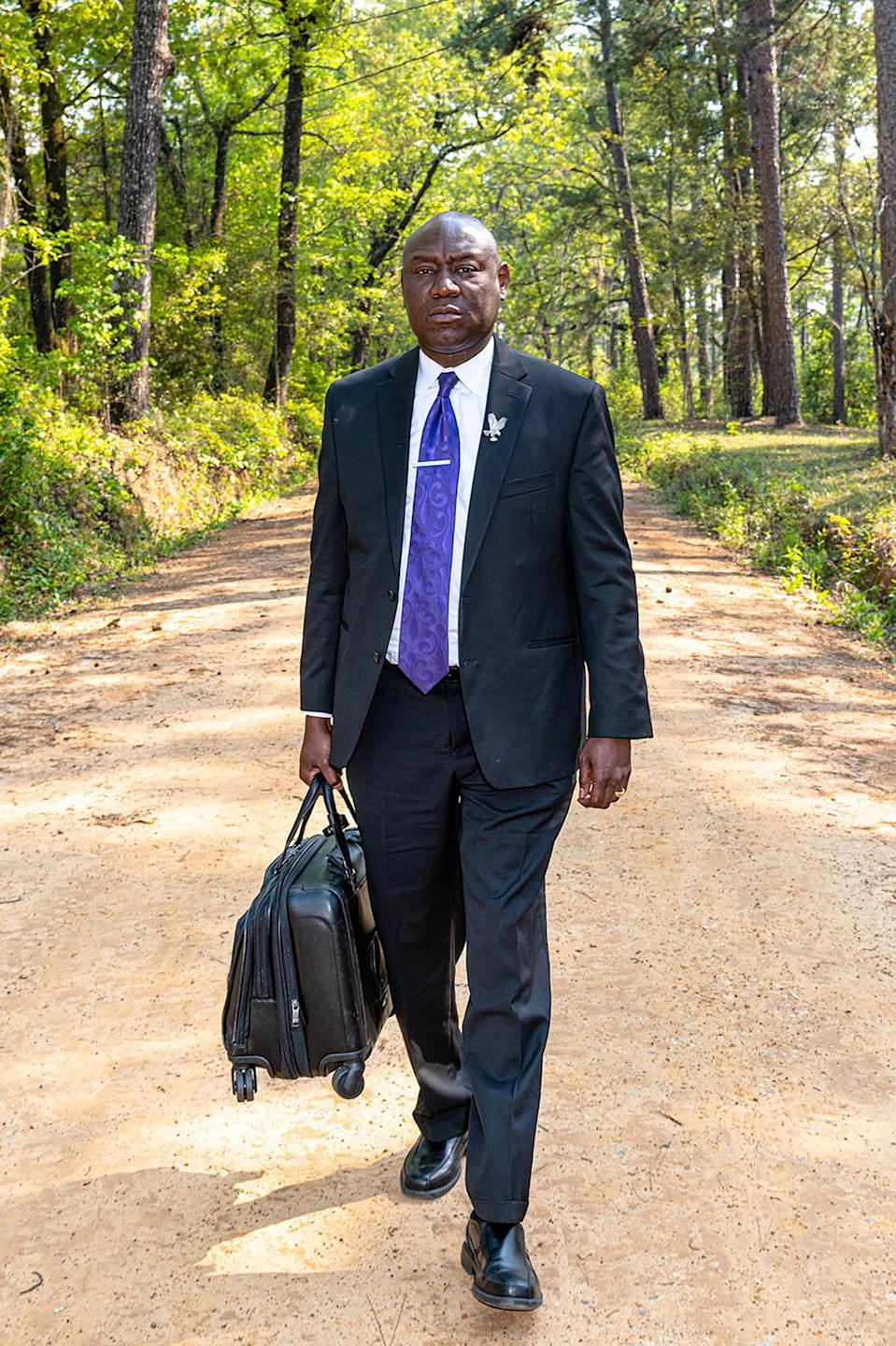 """Crump on his way to visit a client in Thomasville, Ga. on April 3.<span class=""""copyright"""">Ruddy Roye for TIME</span>"""