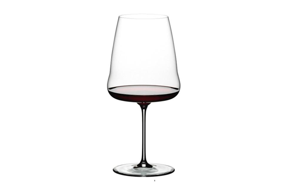"$35, Riedel. <a href=""https://www.riedel.com/en-us/shop/riedel-winewings/cabernet-123400098"" rel=""nofollow noopener"" target=""_blank"" data-ylk=""slk:Get it now!"" class=""link rapid-noclick-resp"">Get it now!</a>"