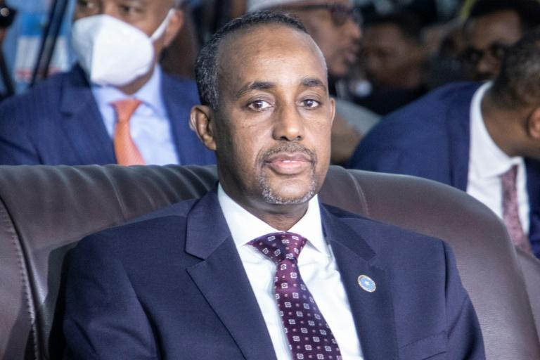Somalia's Prime Minister Mohamed Hussein Roble was appointed by the president in September last year (AFP/Abdirahman Yusuf)