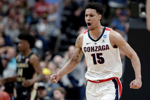 Gonzaga forward Brandon Clarke is an older prospect. (AP Photo/Jae C. Hong)