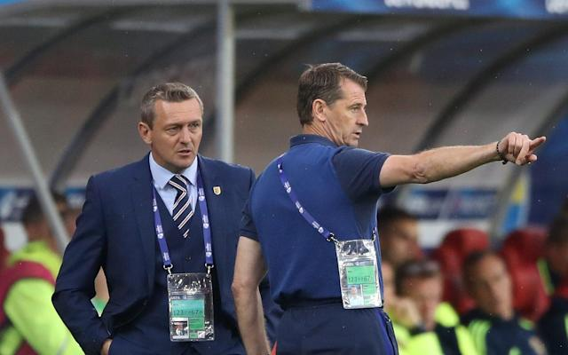 <span>Aidy Boothroyd is aware of the task facing his side</span> <span>Credit: PA </span>