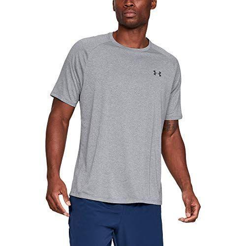 """<p><strong>Under Armour</strong></p><p>amazon.com</p><p><strong>$17.99</strong></p><p><a href=""""https://www.amazon.com/dp/B077XNW4S8?tag=syn-yahoo-20&ascsubtag=%5Bartid%7C2139.g.36132587%5Bsrc%7Cyahoo-us"""" rel=""""nofollow noopener"""" target=""""_blank"""" data-ylk=""""slk:BUY IT HERE"""" class=""""link rapid-noclick-resp"""">BUY IT HERE</a></p><p>Honestly, what guy can't use another workout shirt? This quick-drying tee has thousands of five-star reviews on Amazon, and best of all, it's on sale for a great price. </p>"""