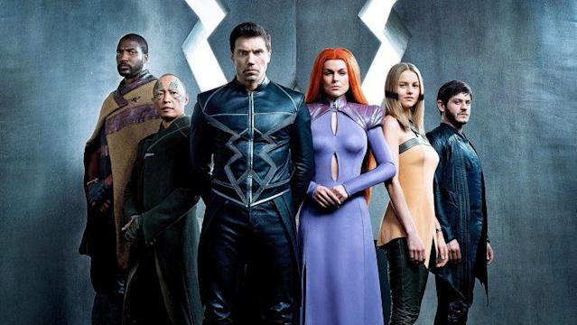Marvel's <em>Inhumans</em>. (Photo: Michael Muller/Marvel for Entertainment Weekly)