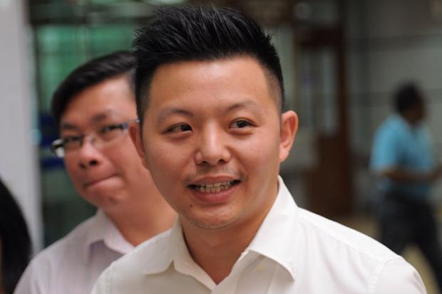 Penang Gerakan acting youth chief Jason Loo (pic) claimed that Penang Chief Minister Lim Guan Eng had delayed the corruption trial using the basis that the law was unconstitutional. — Picture by KE Ooi