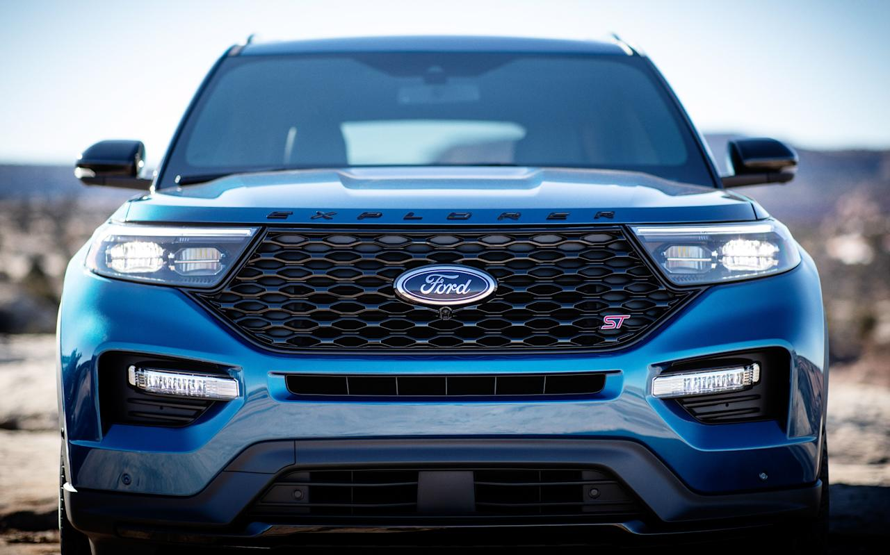 "<p>The 2020 Ford Explorer ST applies the Ford Performance badge to its three-row family SUV. A twin-turbocharged V-6 engine with 400 horsepower and numerous chassis tweaks make for an impressive overall package. Read the full story <a href=""https://www.caranddriver.com/reviews/a28108457/2020-ford-explorer-st-drive/"" target=""_blank"">here</a>.</p>"
