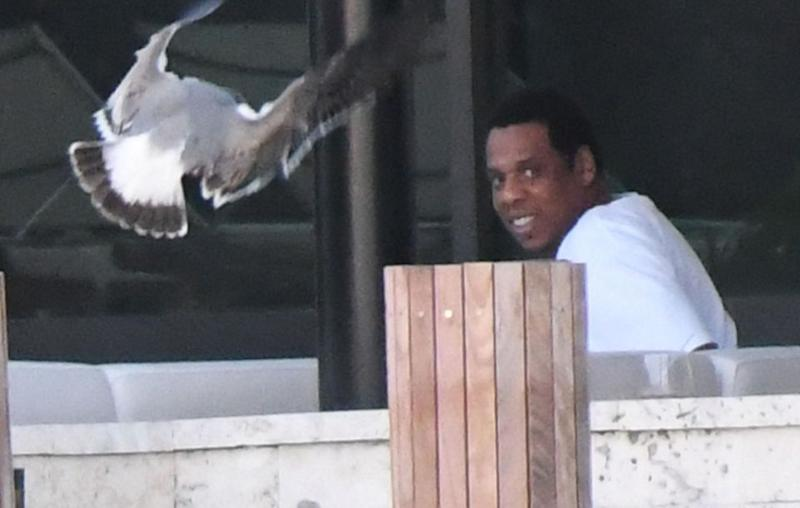 Beyonce's husband Jay Z seen during the family holiday. Source: Mega