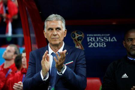 Soccer Football - World Cup - Group B - Iran vs Spain - Kazan Arena, Kazan, Russia - June 20, 2018 Iran coach Carlos Queiroz before the match REUTERS/Toru Hanai