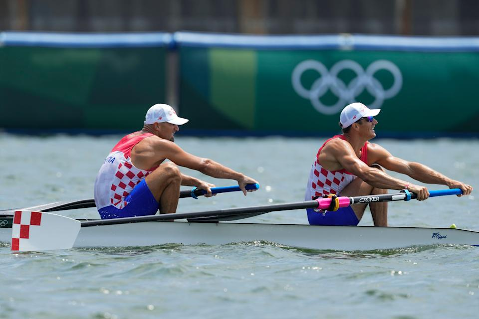 Tokyo Olympics Rowing (Copyright 2021 The Associated Press. All rights reserved)