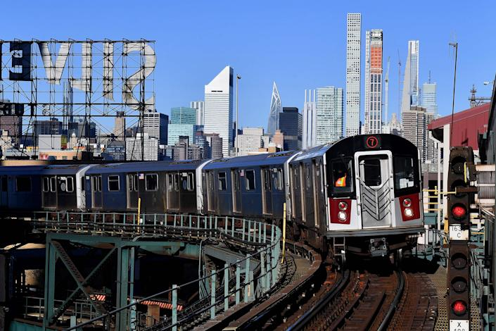 <p>New York's subway is one of the busiest metro systems in the world</p> (AP)
