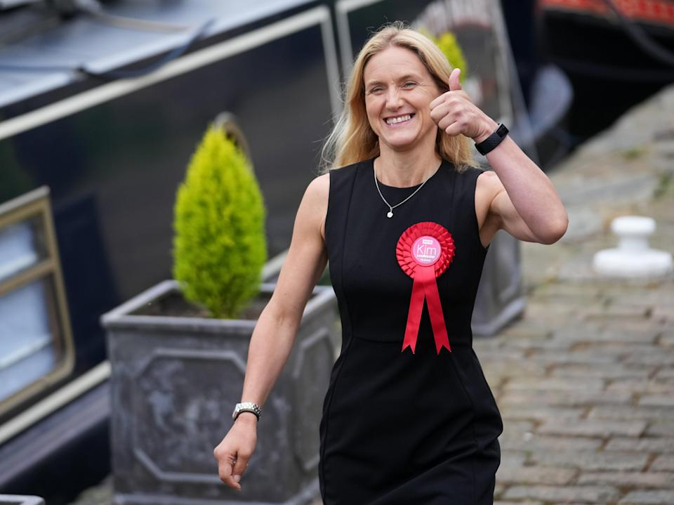 When Leadbeater was asked whether Starmer had been a help or a hindrance, she said 'the focus of the campaign was very much listening to local people' (Getty Images)
