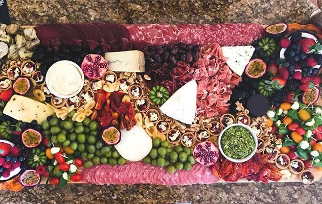 Libby's platter ingredients are sourced from local vendors and markets. Photo: The Platter Project