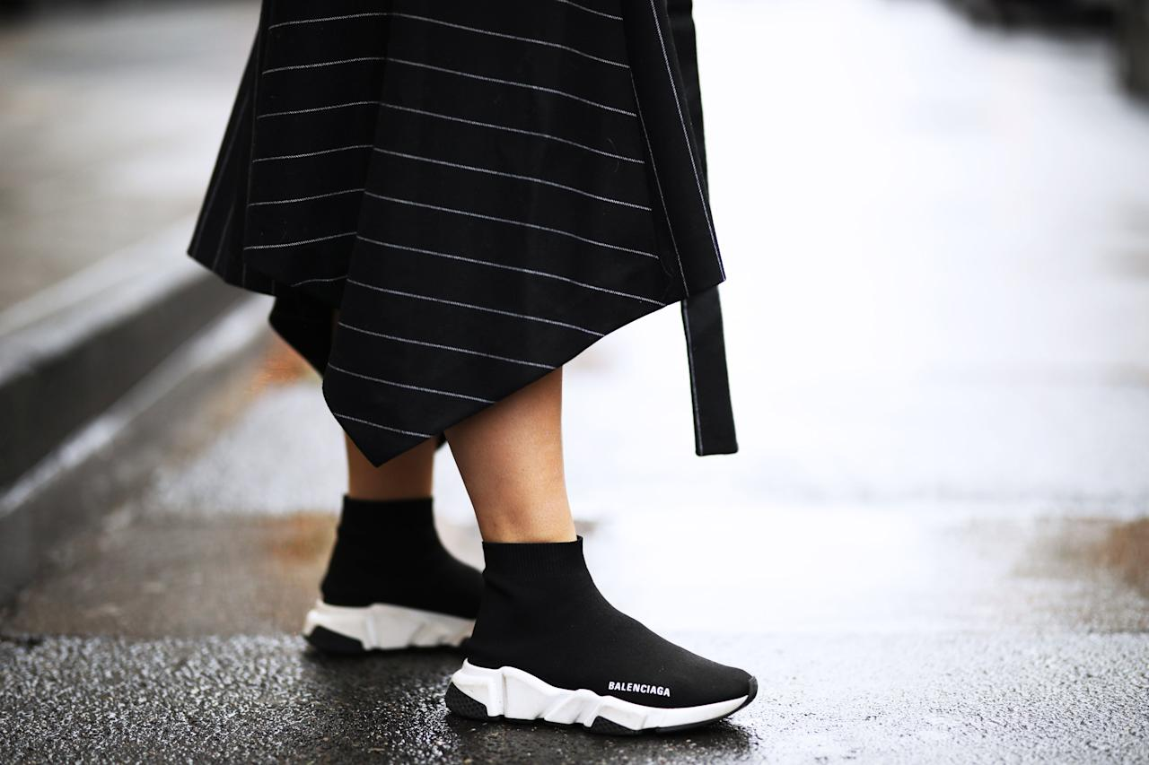 """<p>Sneakers are a wardrobe staple—you can always find a pair suitable for every outfit and occasion. And from <a href=""""https://www.marieclaire.com/fashion/g30138333/workout-shoes-for-women/"""" target=""""_blank"""">gym sneakers </a>to <a href=""""https://www.marieclaire.com/fashion/g26930582/chunky-sneakers/"""" target=""""_blank"""">dad sneakers</a>, <a href=""""https://www.marieclaire.com/fashion/news/g2931/coolest-sneakers/"""" target=""""_blank"""">casual</a> to <a href=""""https://www.marieclaire.com/fashion/g30243860/best-sneakers-2020/"""" target=""""_blank"""">dressy sneakers,</a> you'll never regret stocking your wardrobe with a variety. But when it comes to finding a simple, no-hassle, get-up-and-go sneaker, a simple slip-on is the perfect choice. Check out our favorite lace-free styles for women, ahead.</p>"""