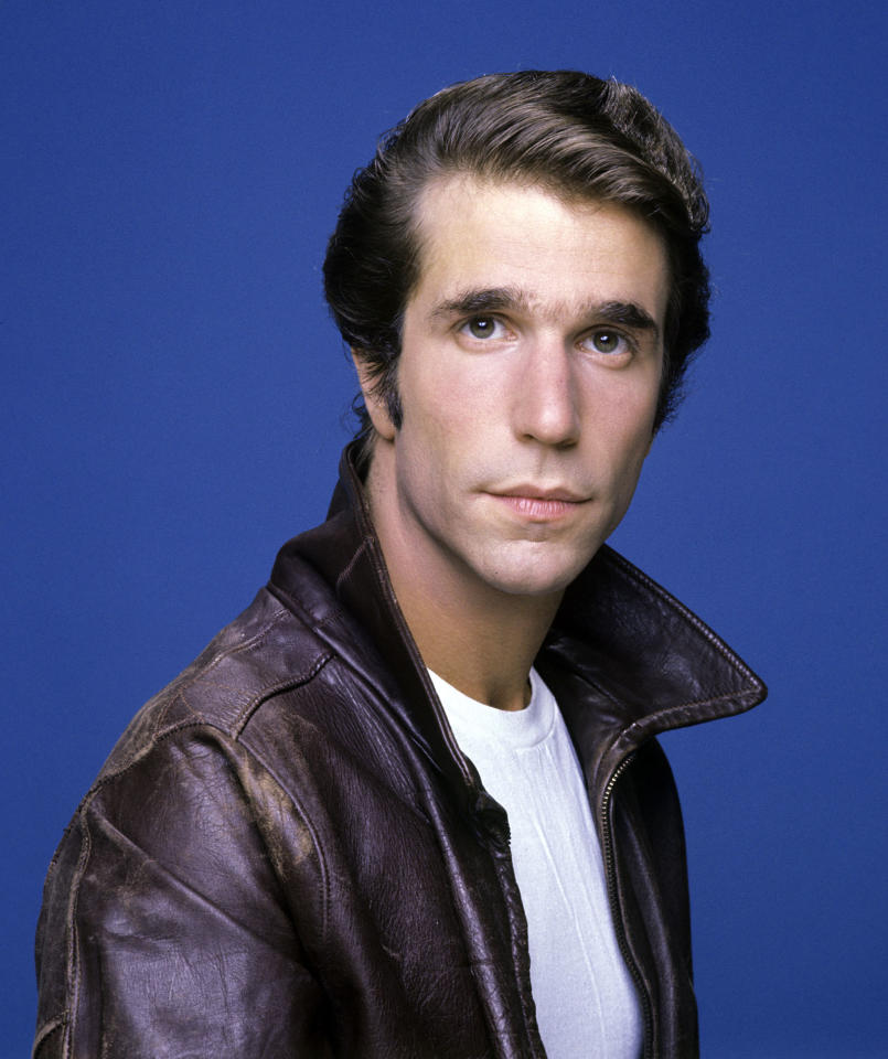 """Happy Days"" Henry Winkler as Arthur 'Fonzie' Fonzarelli"