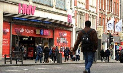 HMV Group Trying To Renegotiate Debts