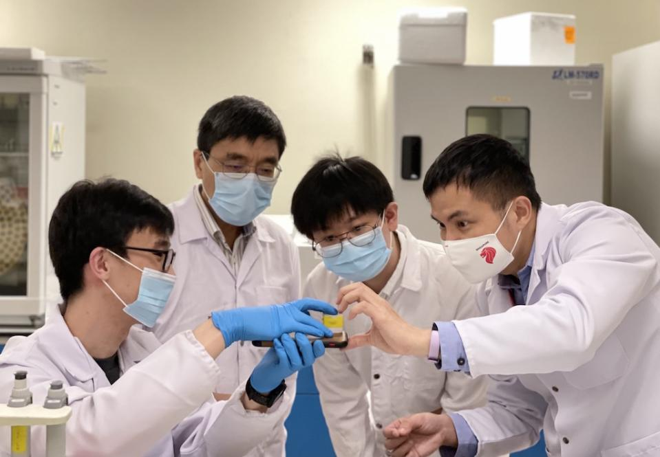 The team of scientists led by NTU hopes that the VaNGuard test can be deployed in settings where quickly confirming COVID-19 status of individuals is paramount. PHOTO: Nanyang Technological University