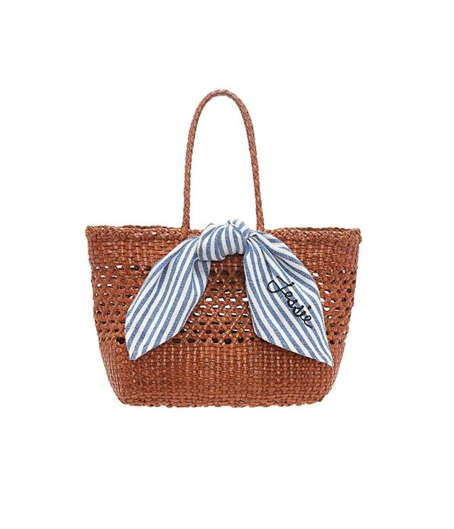 "<p>Edith Woven Leather Mini Tote, $295, <a href=""https://www.loefflerrandall.com/edith-clsf-tablc.html"" rel=""nofollow noopener"" target=""_blank"" data-ylk=""slk:loefflerrandall.com"" class=""link rapid-noclick-resp"">loefflerrandall.com</a> </p>"