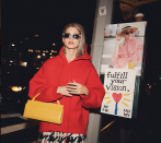 <p>Thanks to designers such as Vetements and Off-White sportswear wasn't going anywhere this season, with the humble hoodie being a cosy go-to for many. [Photo: The Eye Travels/ Instagram] </p>
