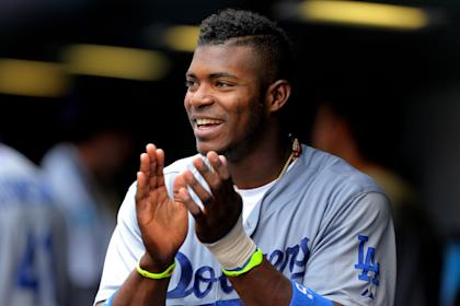 Few players appear to have more fun than Yasiel Puig. (Getty Images)
