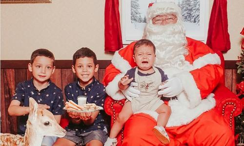 Simply visiting Santa no longer seems quite enough for the Christmas 'experience'