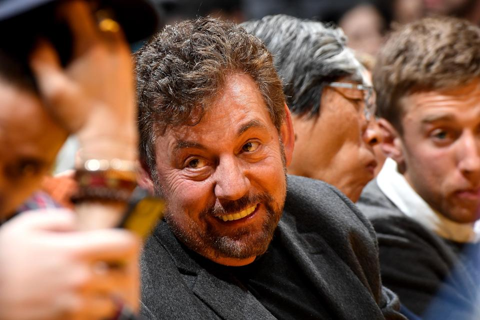 There are once again rumors floating around about James Dolan trying to sell the Knicks. (Photo by Andrew D. Bernstein/NBAE via Getty Images)