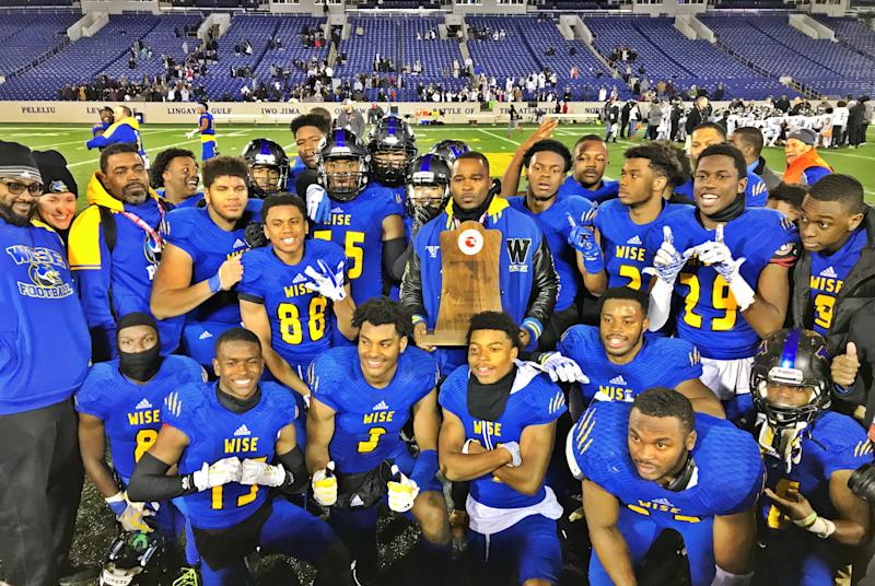 DaLawn Parrish and Wise football reclaim Maryland state title