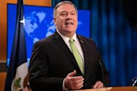 US Secretary of State Mike Pompeo says that China has clearly trampled on Hong Kong's autonomy