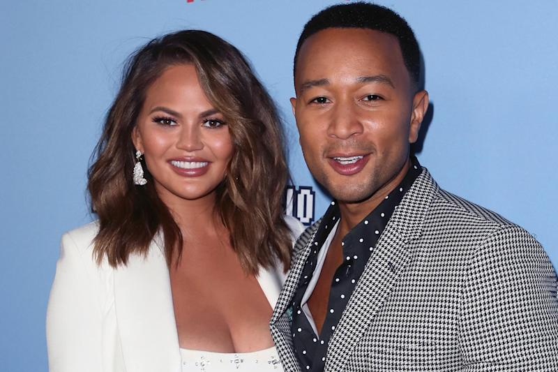 Duo: Chrissy Teigen and John Legend have slammed Morgan before (Getty Images)