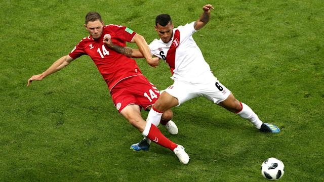 Denmark were perhaps fortunate to beat Peru and Thomas Sorensen says they need to be physically stronger against Australia.